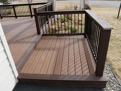 Deck design ideas trex cedar hardwood Alaskan0164 (alaskatreeline) Tags: alaska stairs design deck anchorage porch rails framing railing posts contractor trex builder anchoragealaska bestdeckbuilder