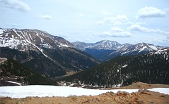 The Continental Divide in Colorado