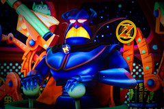 Magic Kingdom - Evil Emperor Zurg (Jeff Krause Photography) Tags: buzz magic evil kingdom disney blacklight lightyear tomorrowland emperor zurg