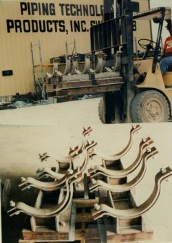 Cryogenic Pipe Supports for a LNG Plant in Algeria