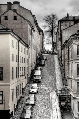 Estocolmo. Calle de Södermalm.
