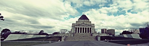 Memorial shrine pano