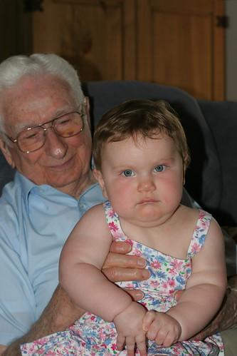Grandpa Jim Visit 05/2010