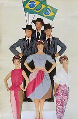 Brazil (sugarpie honeybunch) Tags: brazil fashion vintage magazine 60s 1960s seventeen