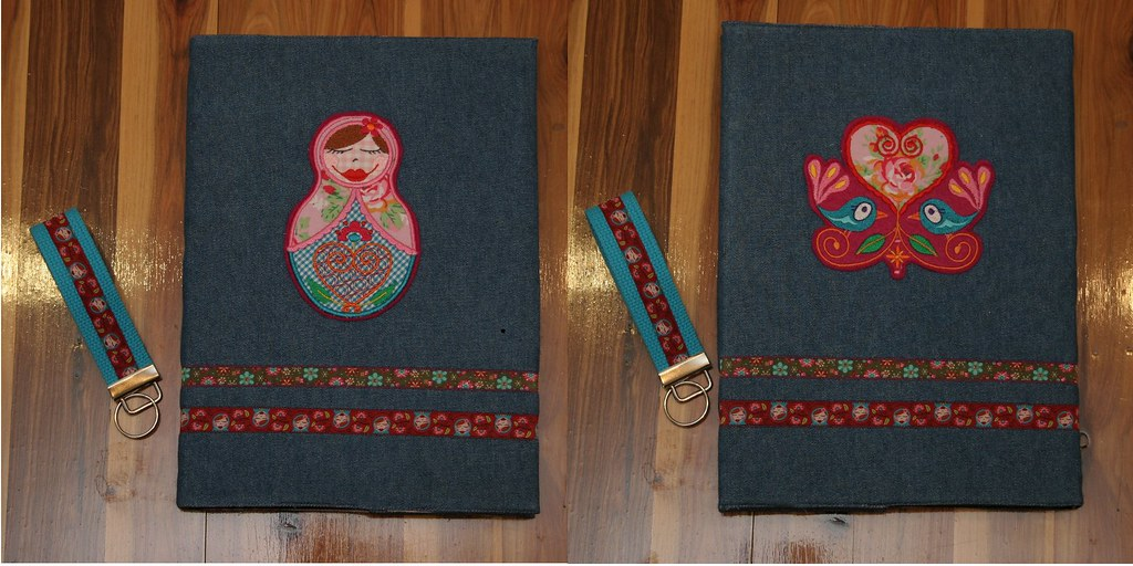babushka journal cover