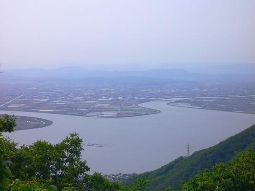 倉敷川と笹が瀬川