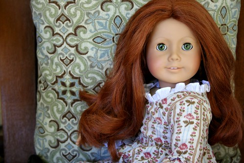 American Girl Doll Hair- Fixed