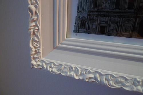 rehabbed frame (detail)