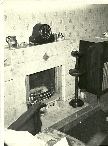 Front room 237 Duke Street Glasgow 1950's