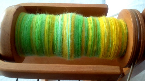 BFL dandelion in progress