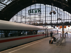Cologne central station (PaulVanRhyn) Tags: ice architecture bahnhof hauptbahnhof bahn bah centralrailwaystation