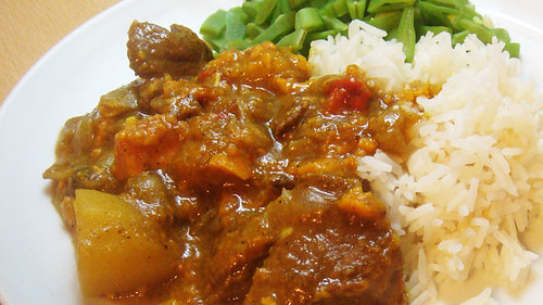 Columbo pork curry