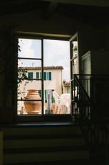 (Inn Kostukovsky) Tags: door old light sky outside florence spring warmth charm lookingup patio access spring10 morningontheterrace italianbauty