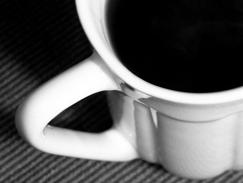 El café...