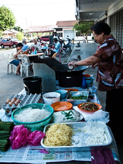IMG_0207 Fried Koay Teow , 炒粿条