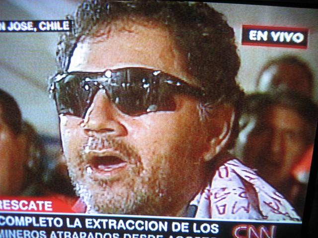 Foto rescate Luis Urzúa éxito