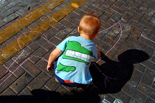 street chalk
