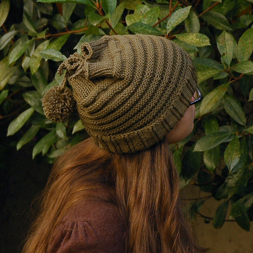 Thinking of Autumn Hat closeup