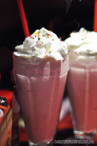 Strawberry Malts at Red Robin 2 ~ Shoreview, MN copy