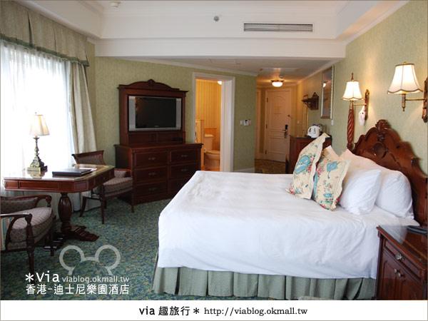 【香港住宿】跟著via玩香港(4)~迪士尼樂園酒店(外觀、房間篇)27