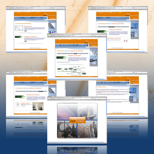 Página Web OLM Consultoría Inmobiliaria
