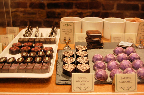 vegan chocolate at cocoa v