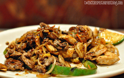 BBQ Beef Stir Fry at bd's Mongolian Grill ~ Burnsville, MN