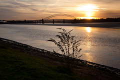 England - Cheshire - Widnes - Silver Jubilee Bridge - 28th October 2010 -22.jpg (Redstone Hill) Tags: england mersey widnes halton rivermersey silverjubileebridge runcornwidnesbridge