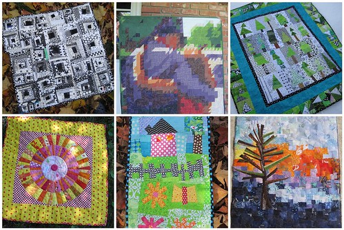 some of my quilts from 2010