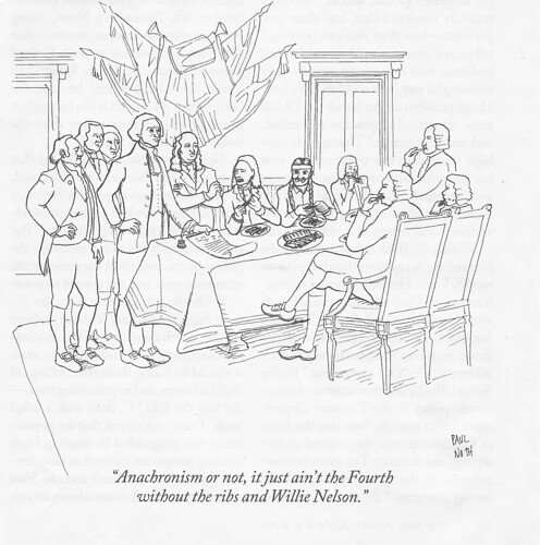 Willie Nelson New Yorker cartoon