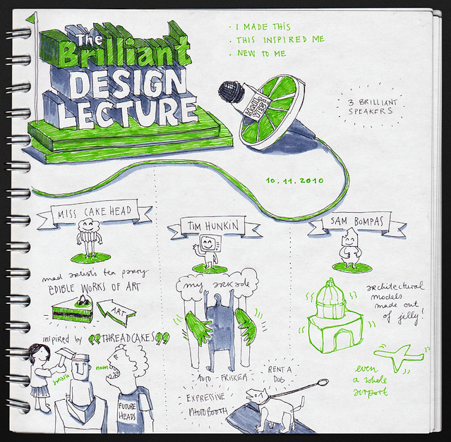 The Brilliant Design Lecture – Internet Week Europe 2010