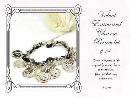 Velvet Entwined Charm Bracelet (Final)