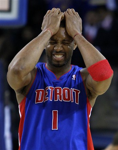 Pistons Warriors Basketball