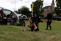 Backhold Wrestling at Luss, Loch Lomond (FotoFling Scotland) Tags: wrestling luss highlandgames