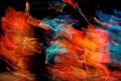 S&R #9 (g*treefrog) Tags: painterly blue orange abstract india mindil dance