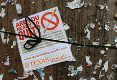 Are you ready? (happiness is...photography) Tags: smoking sign university texas rule thirds stop quiting