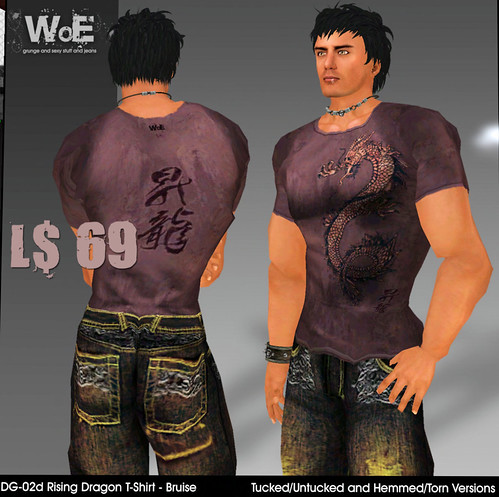 69L WoE Rising Dragon shirt