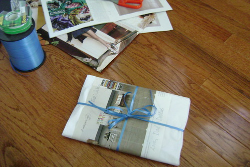 catalog wrapping paper