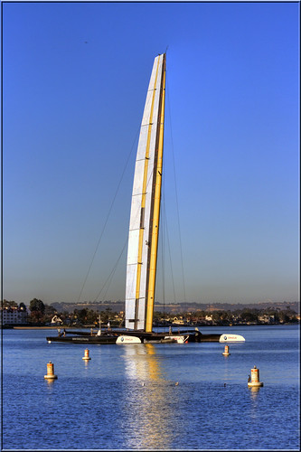 Towering Tall Trimaran