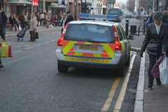 Police Parking (Mr Marples) Tags: chester dk58cpz
