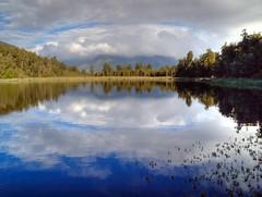 Mirror Lake (pantha29) Tags: newzealand olympus southisland hdr e510