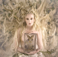 Wonderland : The White Witch (Kirsty Mitchell) Tags: girl fairytale butterfly hair katie ivy surrey spell fantasy wonderland whitewitch kirstymitchell elbievaneeden edwardianboxebay26