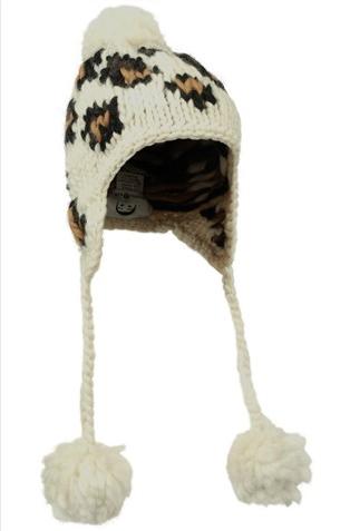 Eugenia Kim 粗線寶寶絨羊駝毛帽
