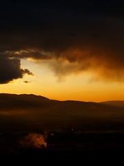 (M.Vinci) Tags: sunset orange yellow clouds blood tramonto nuvole giallo mccarthy meridian arancione fumo cormac