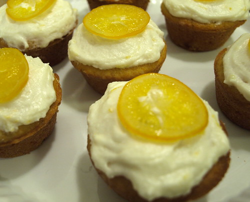 candied lemon cupcakes