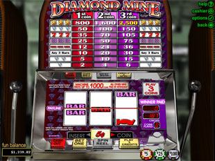 Diamond Mine slot game online review