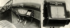 TomTom avant la lettre / Early tripmaster (Nationaal Archief) Tags: car mobile 1932 technology map route inventions navigation kaart tomtom keymap tripmaster spaarnestadphoto uitvindingen