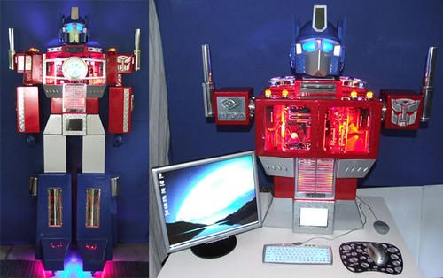 Transformers - Optimus Prime - PC Case Mod