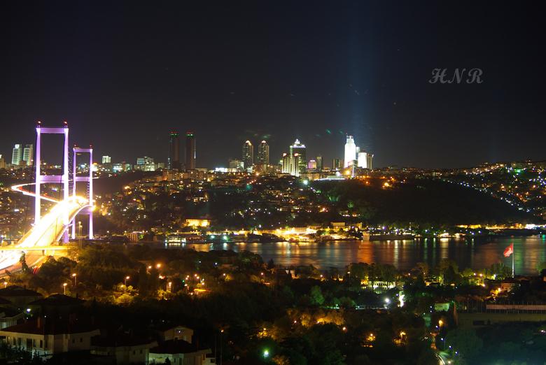 Boğaz Köprüsü - Gece
