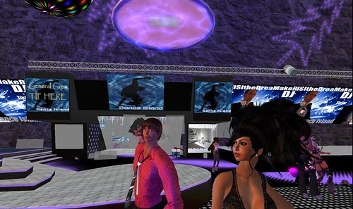 xavier, raftwet at dance island